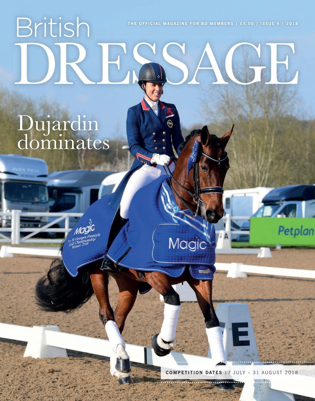 British Dressage Issue 4 2018 By British Dressage Issuu