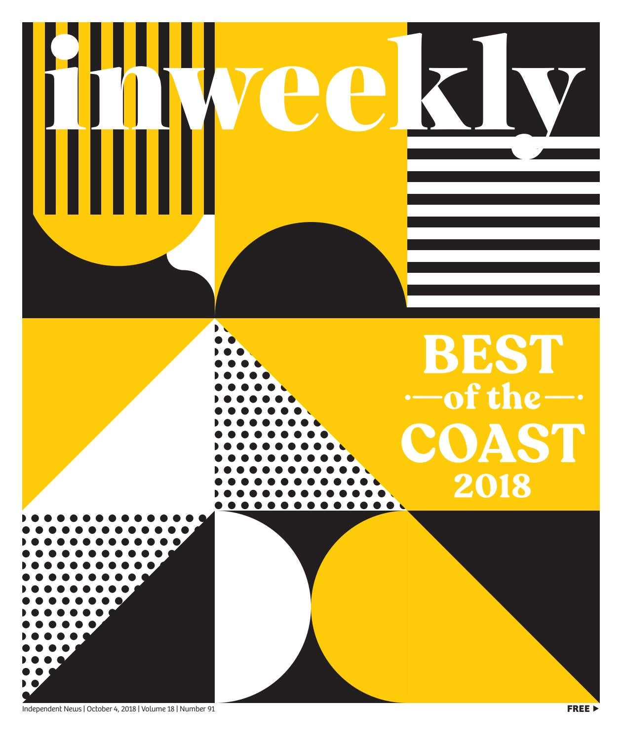 2b05325f91 Inweekly Oct. 4 2018 Issue—Best of the Coast by Inweekly - issuu