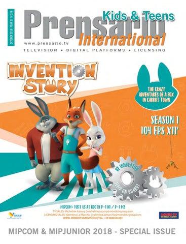 Mipcom Kids 2018 Special Issue Prensario Internacional By