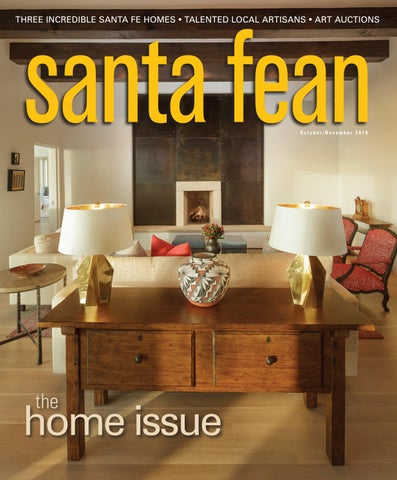 Incredible Santa Fean October November 2018 Digital Edition By Bella Creativecarmelina Interior Chair Design Creativecarmelinacom