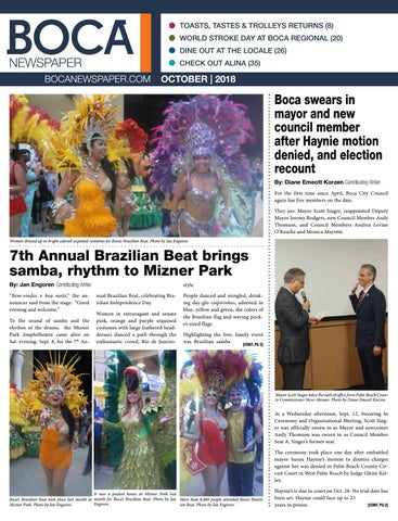 boca newspaper october 2018 by four story media group issuu