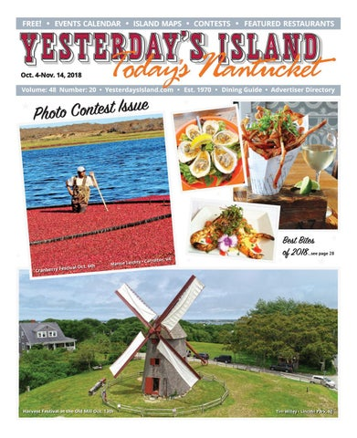 2afdb7b83a1 Yesterday's Island, Today's Nantucket; Vol 48, Issue 20; October 4 ...