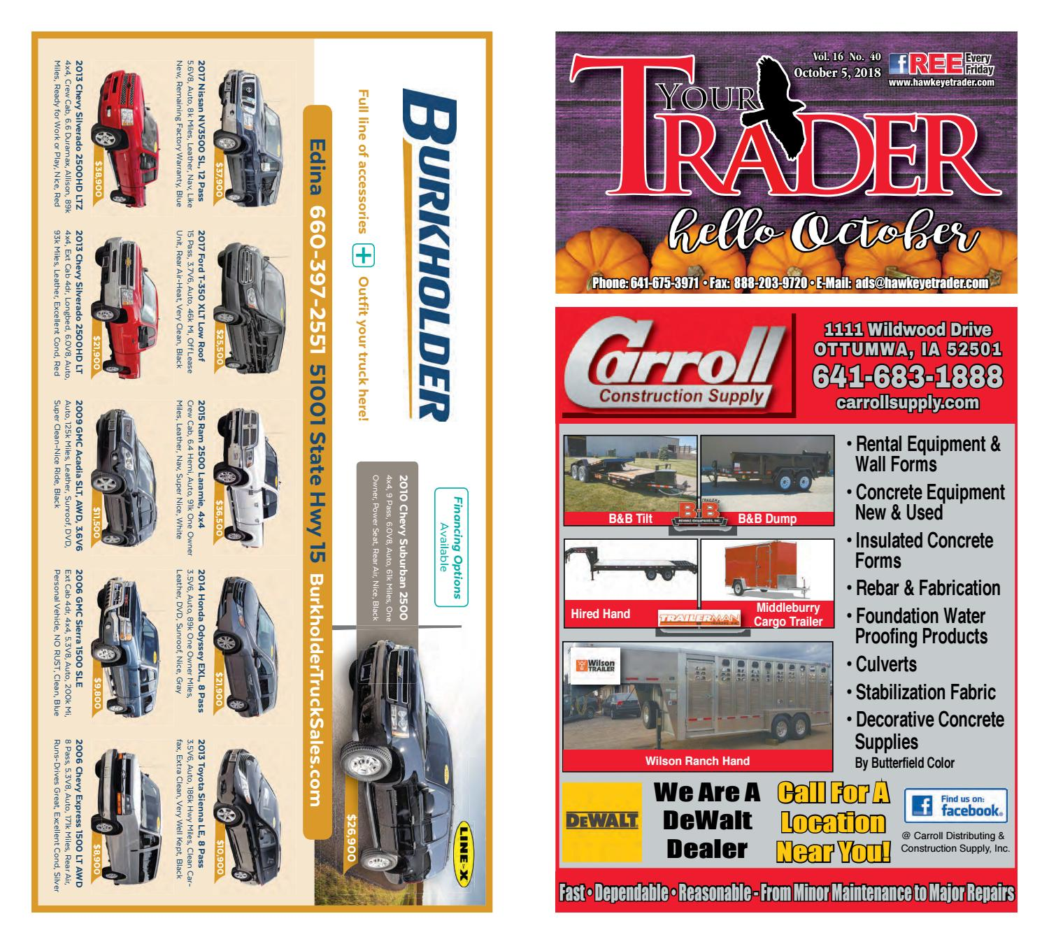 HawkeyeTrader100518 by Hawkeye Trader - issuu on
