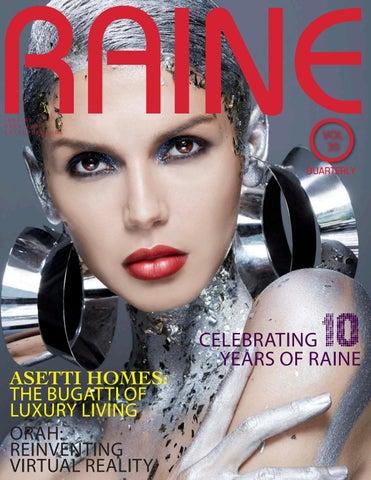 b03c3dee5373 Raine 30 - Celebrating 10 years of Raine by Raine Magazine - issuu