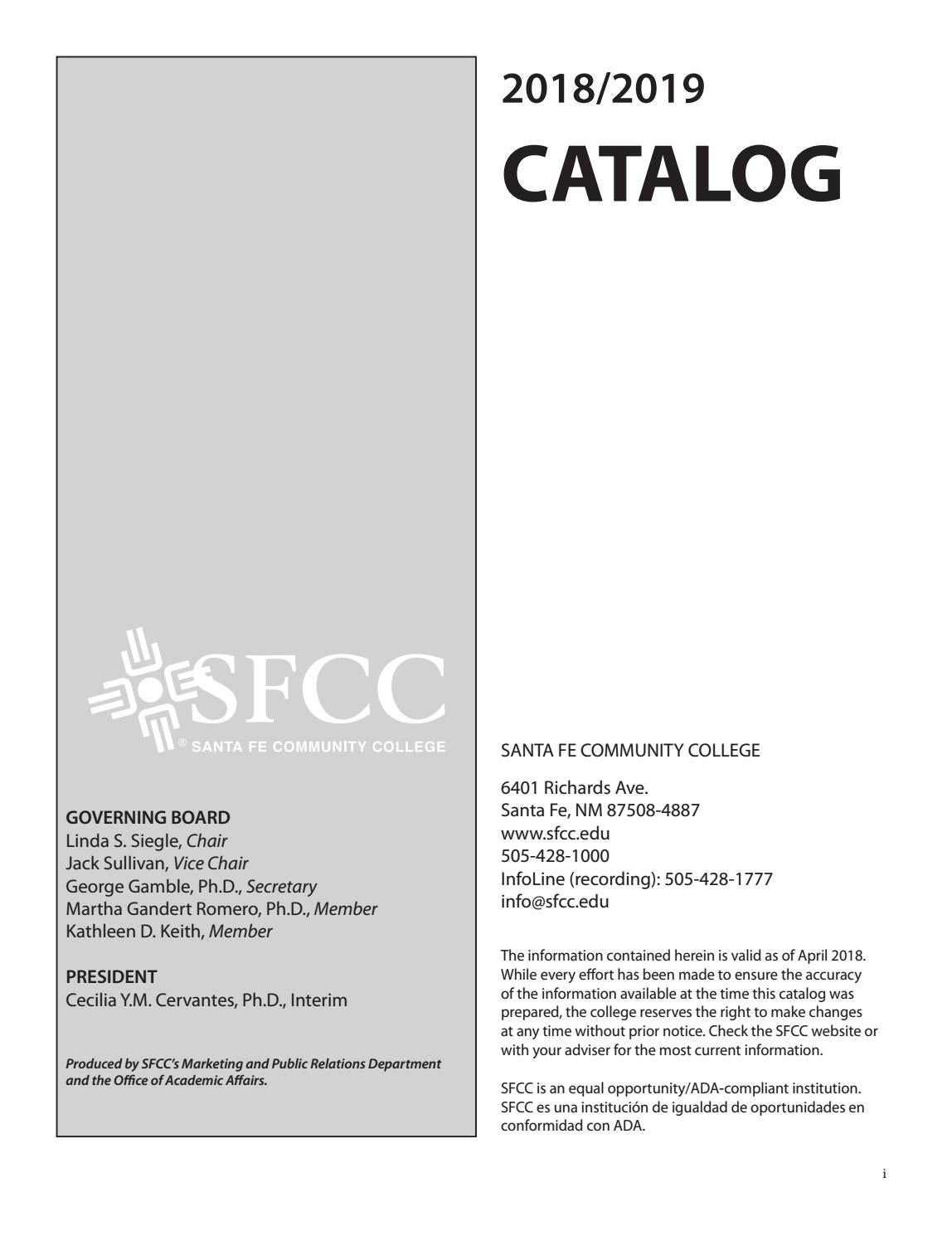 2019 Catalog Web By Santa Fe Community College Issuu How To Build Whistle Responder Circuit Diagram