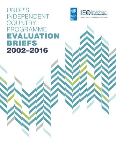 Evaluation Briefs