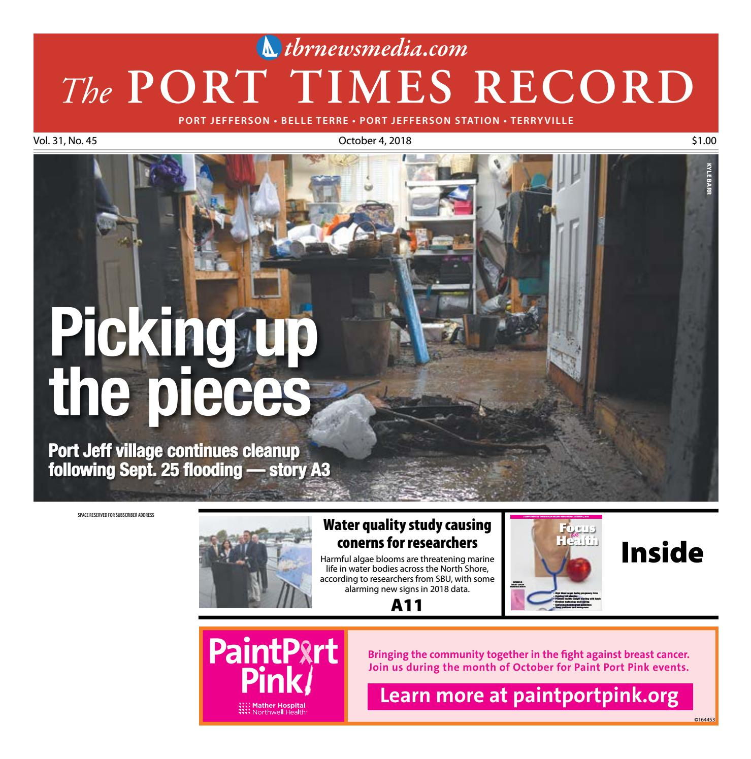 The Port Times Record - October 4, 2018 by TBR News Media