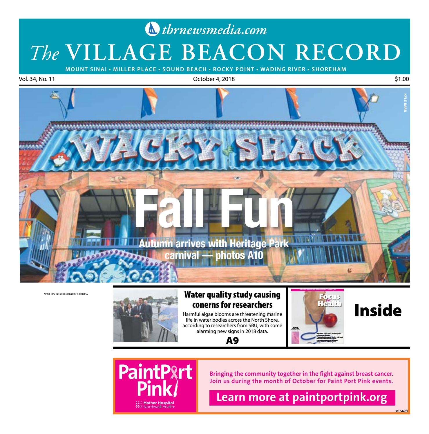 The Village Beacon Record - October 4, 2018 by TBR News