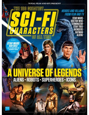 100 Greatest Sci Fi Characters By Email1710 Issuu