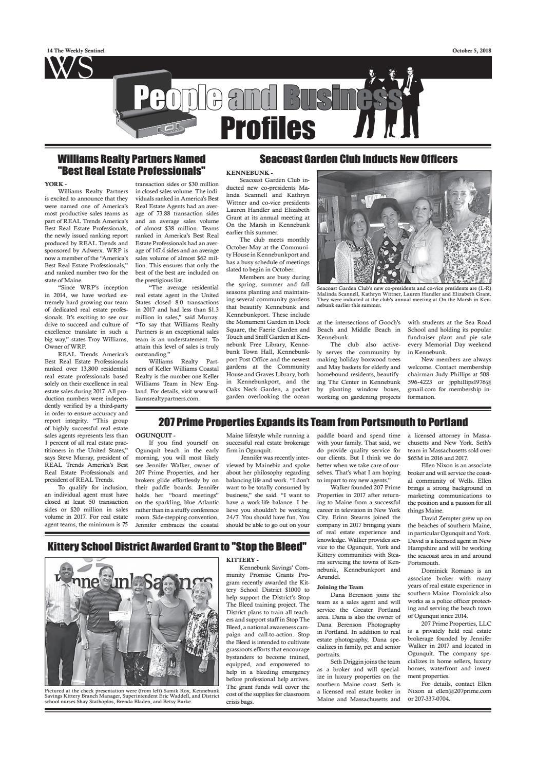 WS June 20, 2014 by Weekly Sentinel - Issuu