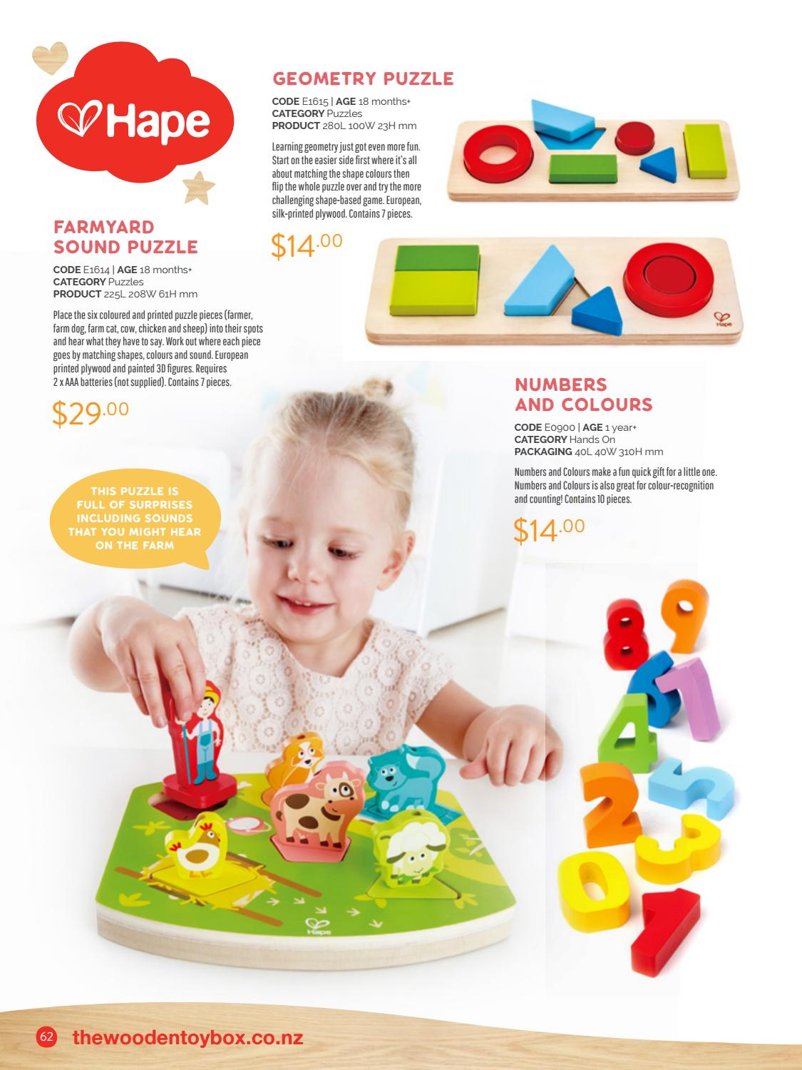 The Wooden Toy Box 2018 19 Product Catalogue By The Wooden Toy Box Issuu