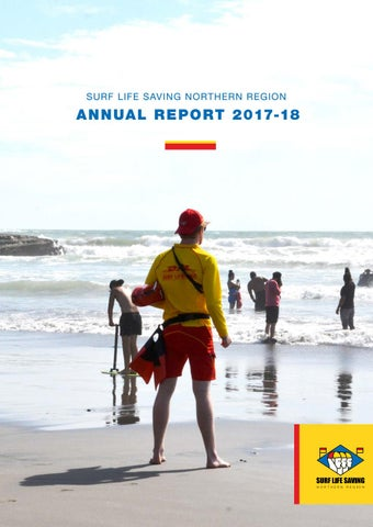 83a1e977f9 Surf Life Saving Northern Region Annual Report 2017-18 (NZ) by Surf ...