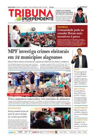 QUINTA-FEIRA n MACEIÓ - ALAGOAS - 4 DE OUTUBRO DE 2018 - Nº 3.242 - 8c2dbf83f4d