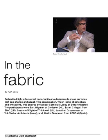 Page 40 of Embedded light, in the fabric