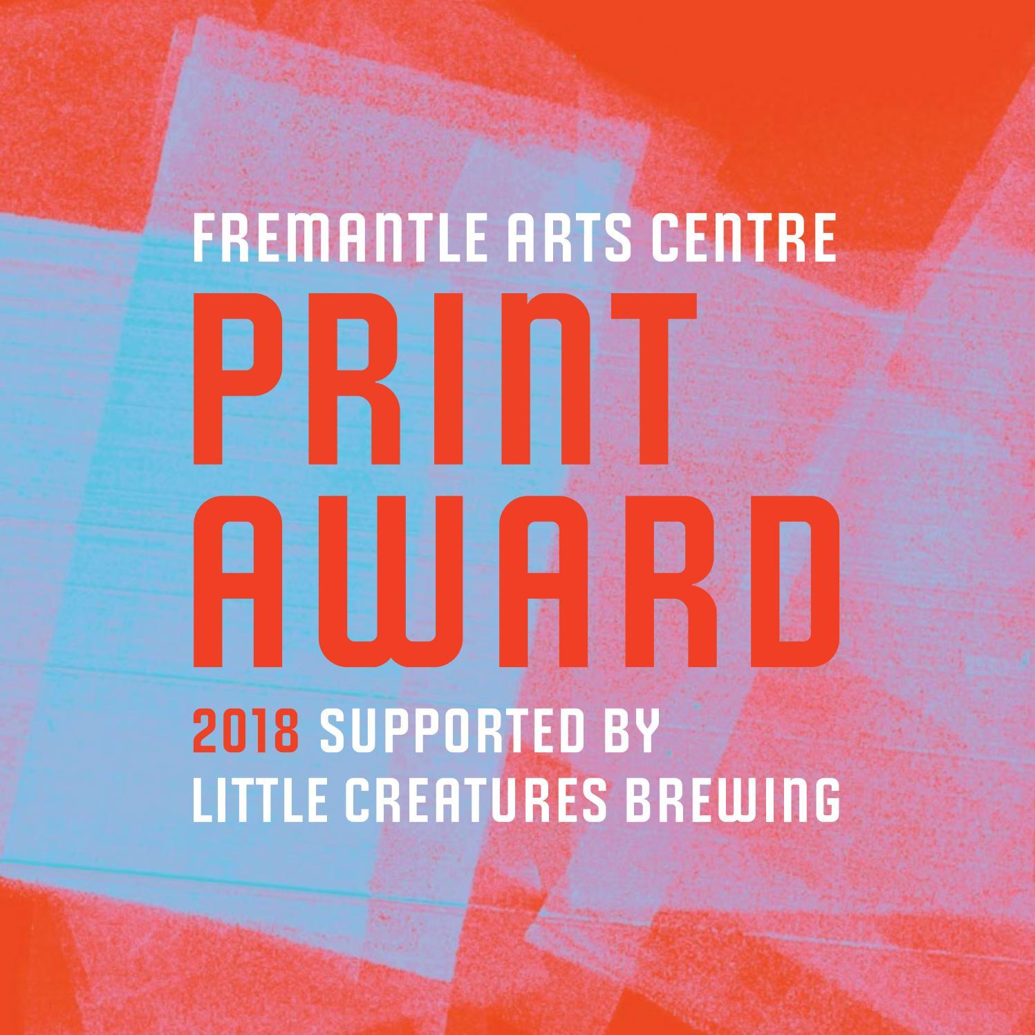 Exhibition Catalogue | 2018 Fremantle Arts Centre Print