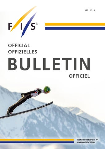 FIS Bulletin 2018 by FIS - issuu