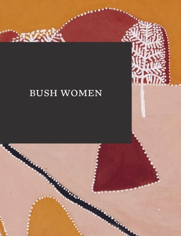 Bush Women By Fremantle Arts Centre Issuu