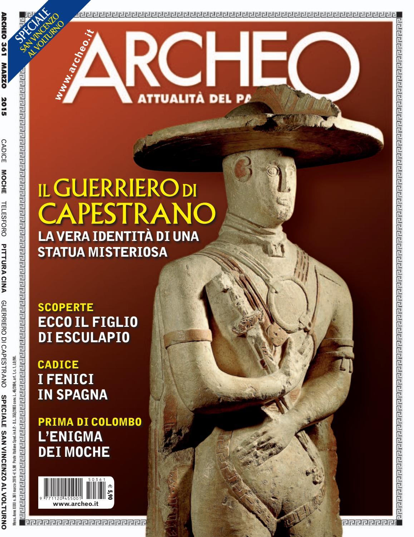 Archeo N 361 Marzo 2015 By Archeo Issuu