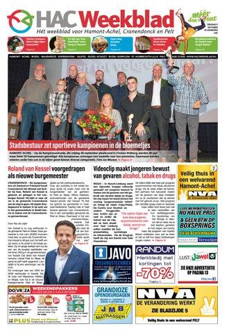 HAC Weekblad week 40 2018 BE by HAC Weekblad issuu