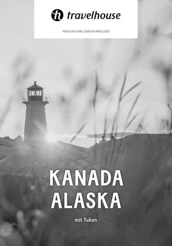 Preisliste Travelhouse Kanada, Alaska – April 19 bis März 20 ...