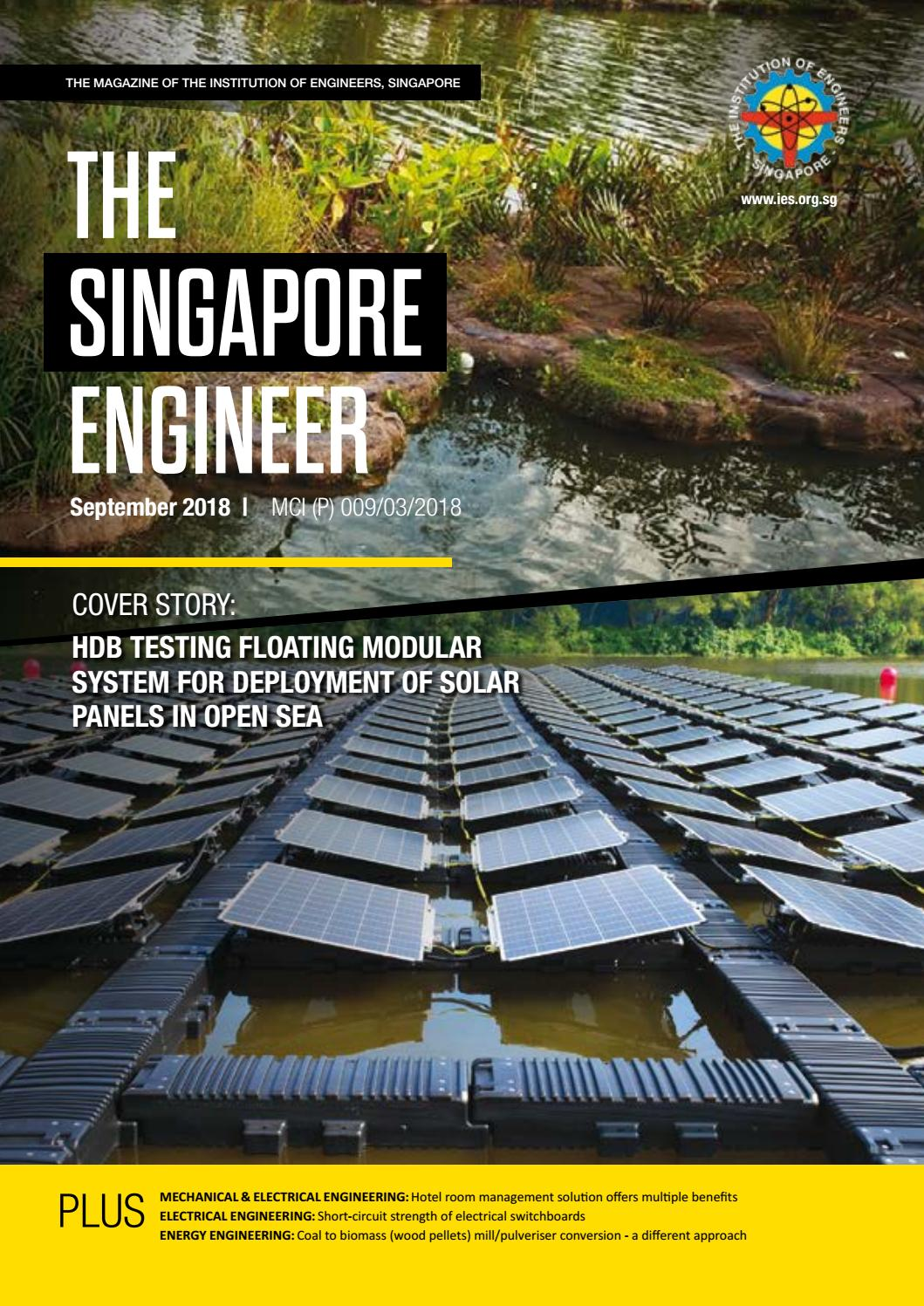The Singapore Engineer September 2018 By Issuu Short Circuit Game