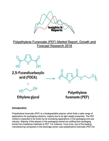 Polyethylene Furanoate (PEF) Market Report, Growth and