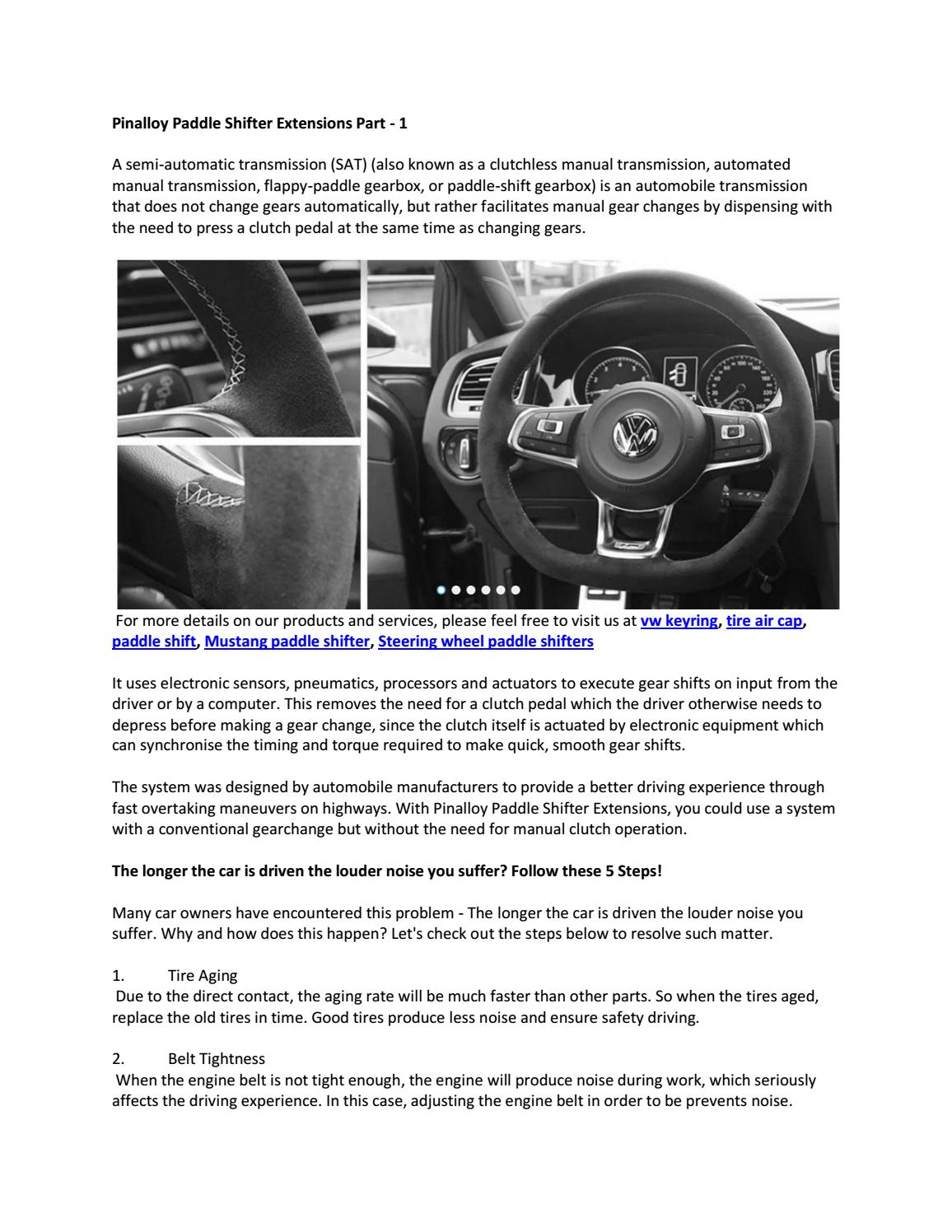 a931305ecd2 Pinalloy Paddle Shifter Extensions Part - 1 by pinalloy - issuu