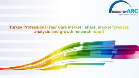 Turkey Professional Hair Care Market analysis and growth