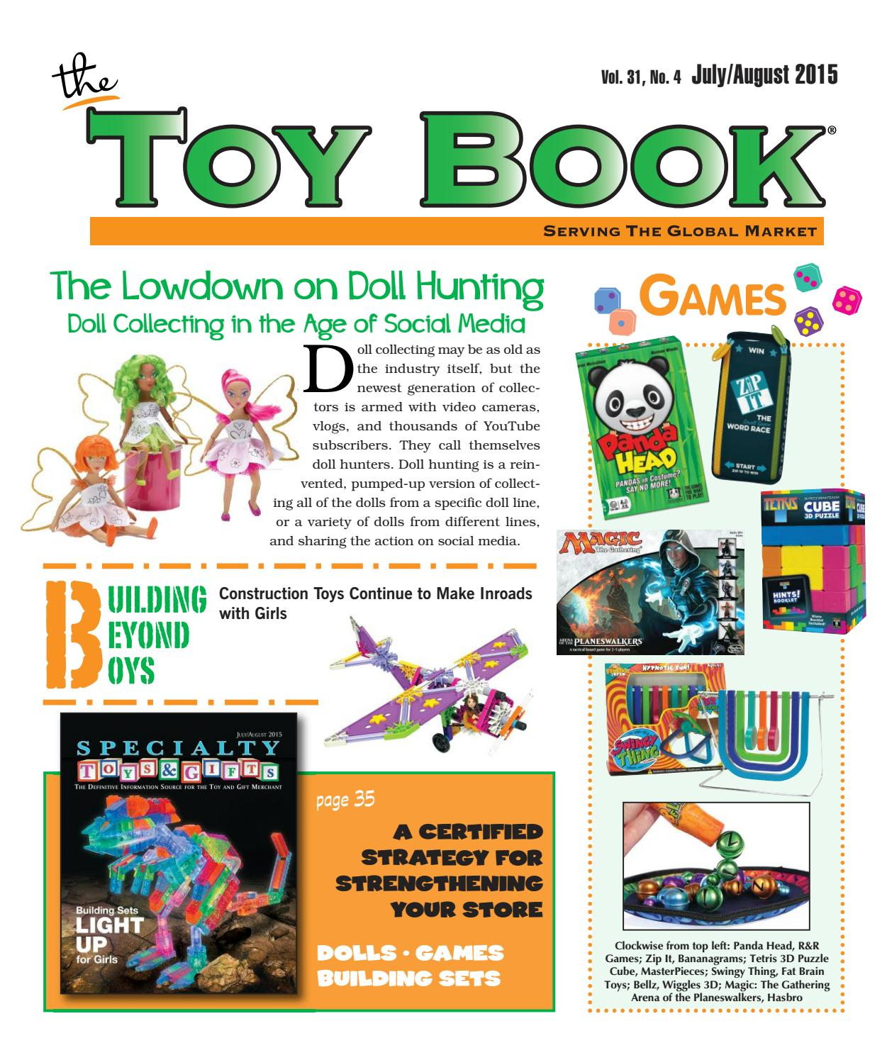 July/August 2015 by The Toy Book - issuu