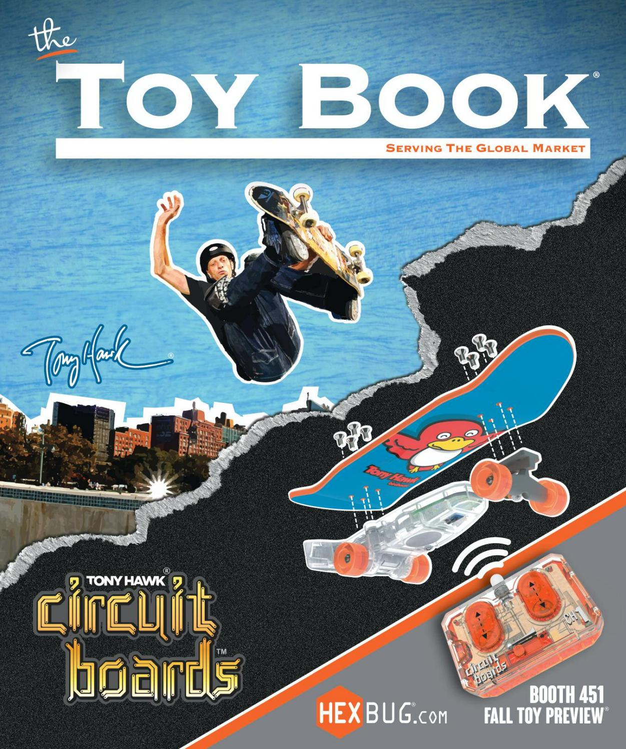September October 2014 By The Toy Book Issuu Buy Hexbug Circuit Boards Remote Control Skateboard Ramp Assorted