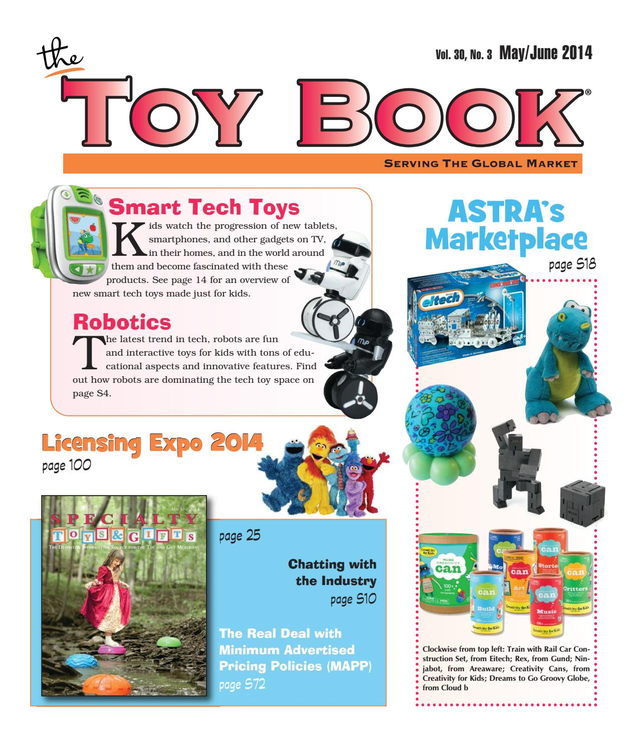 May/June 2014 by The Toy Book - issuu
