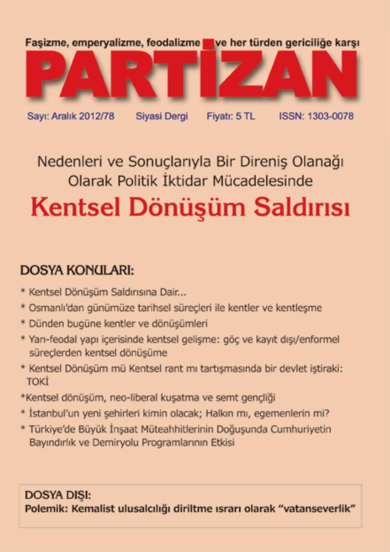 partizan sayi 79 by partizan dergisi