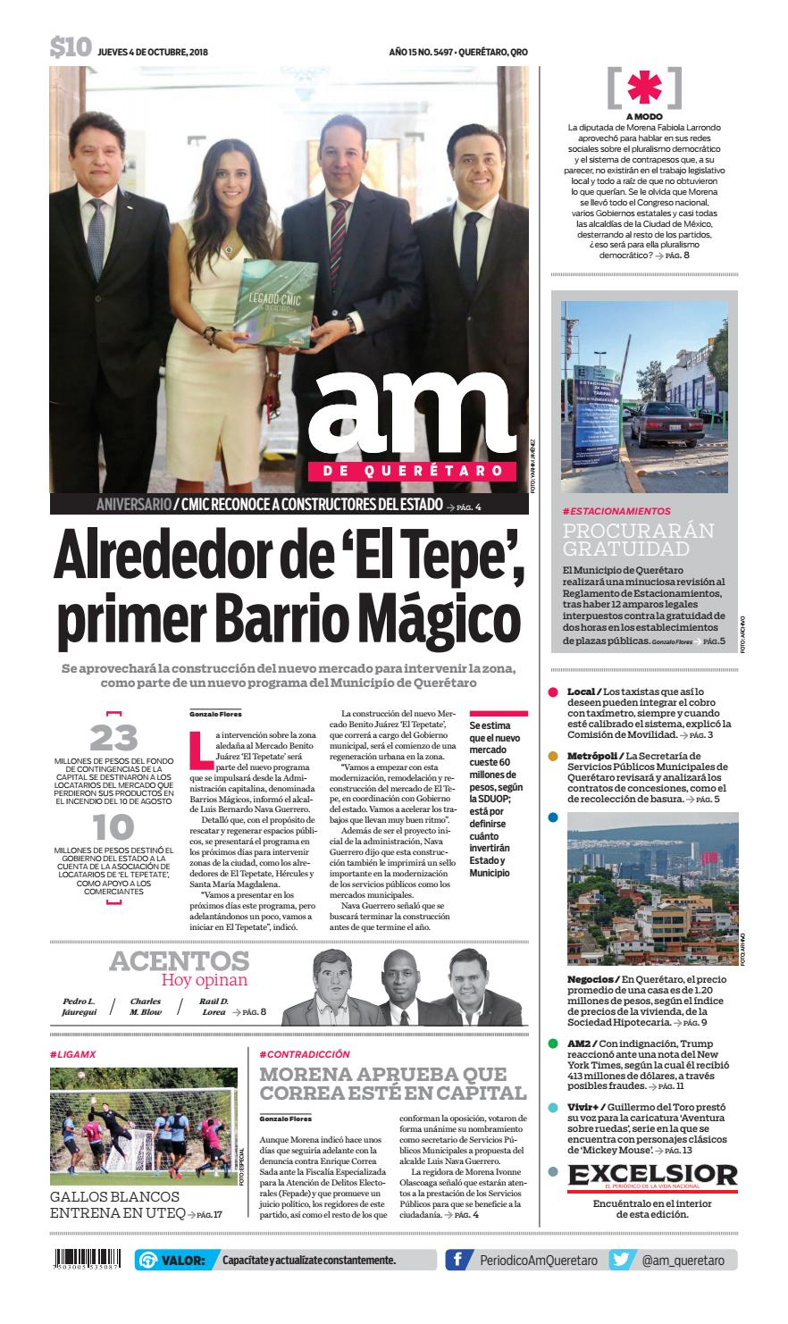 403367901 04 I 10 I 2018 by AM Queretaro - issuu