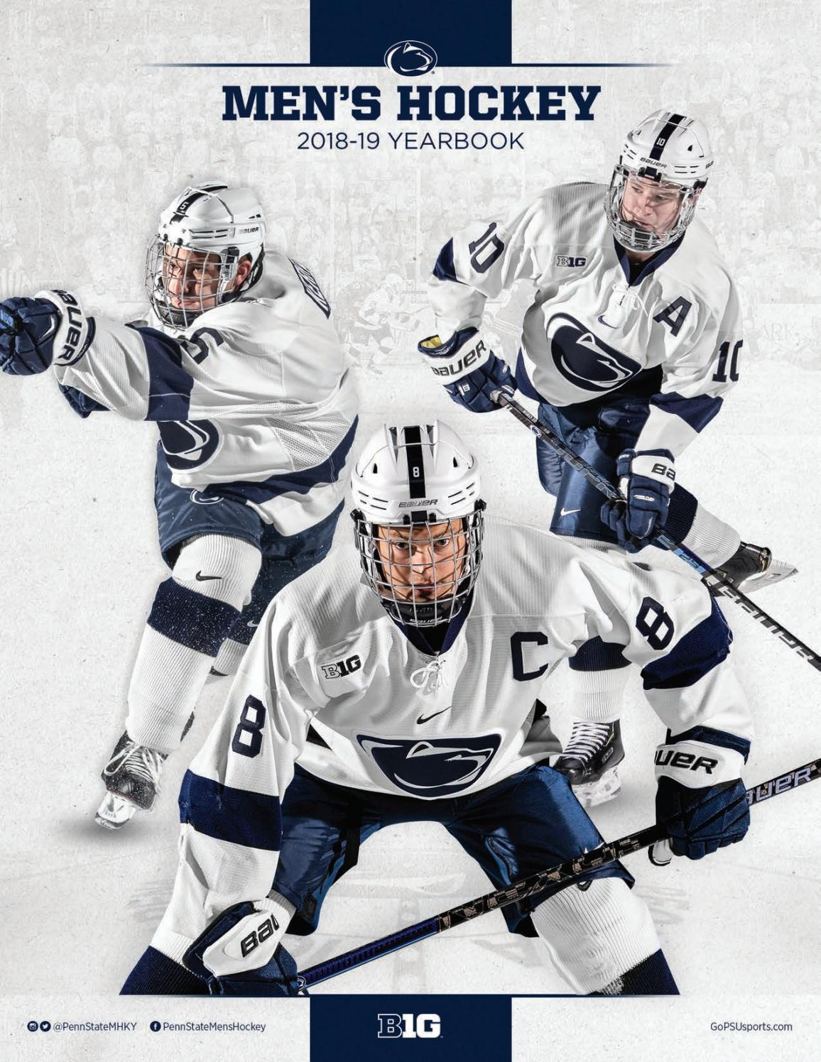 ae0dbc97b339 2018-19 Men s Ice Hockey Yearbook by Penn State Athletics - issuu