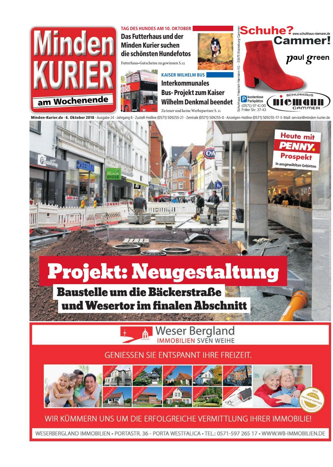 6. Oktober 2018 – Projekt: Neugestaltung by Minden Kurier