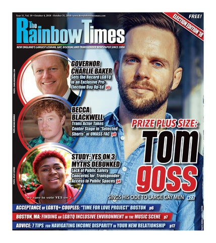 75e364b9888c The Rainbow Times' October 2018 Issue by The Rainbow Times - issuu