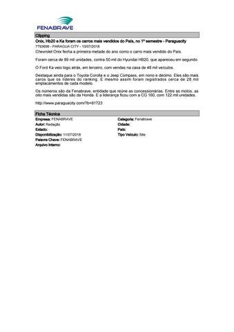 44db1499539 Clipping Fenabrave 11.07.2018 by MCE Comunicação - issuu