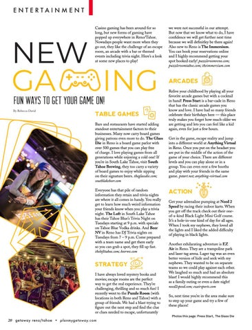 Page 20 of New Gaming in Reno/Tahoe