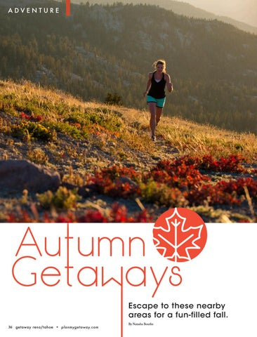 Page 36 of Autumn Getaways in Reno/Tahoe