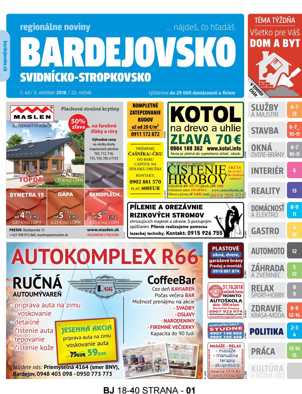 626687ed3 Bj1840 by REGIONPRESS - Bardejovsko - issuu