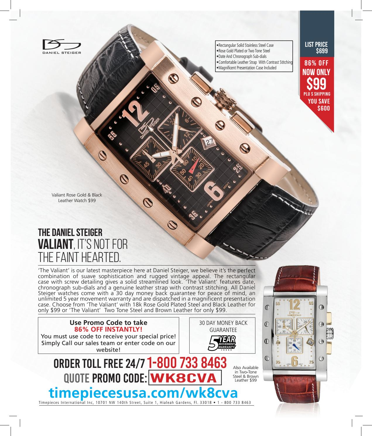 The Weekly Standard Daniel Steiger Advert By Timepiecesusa Special Offers Issuu