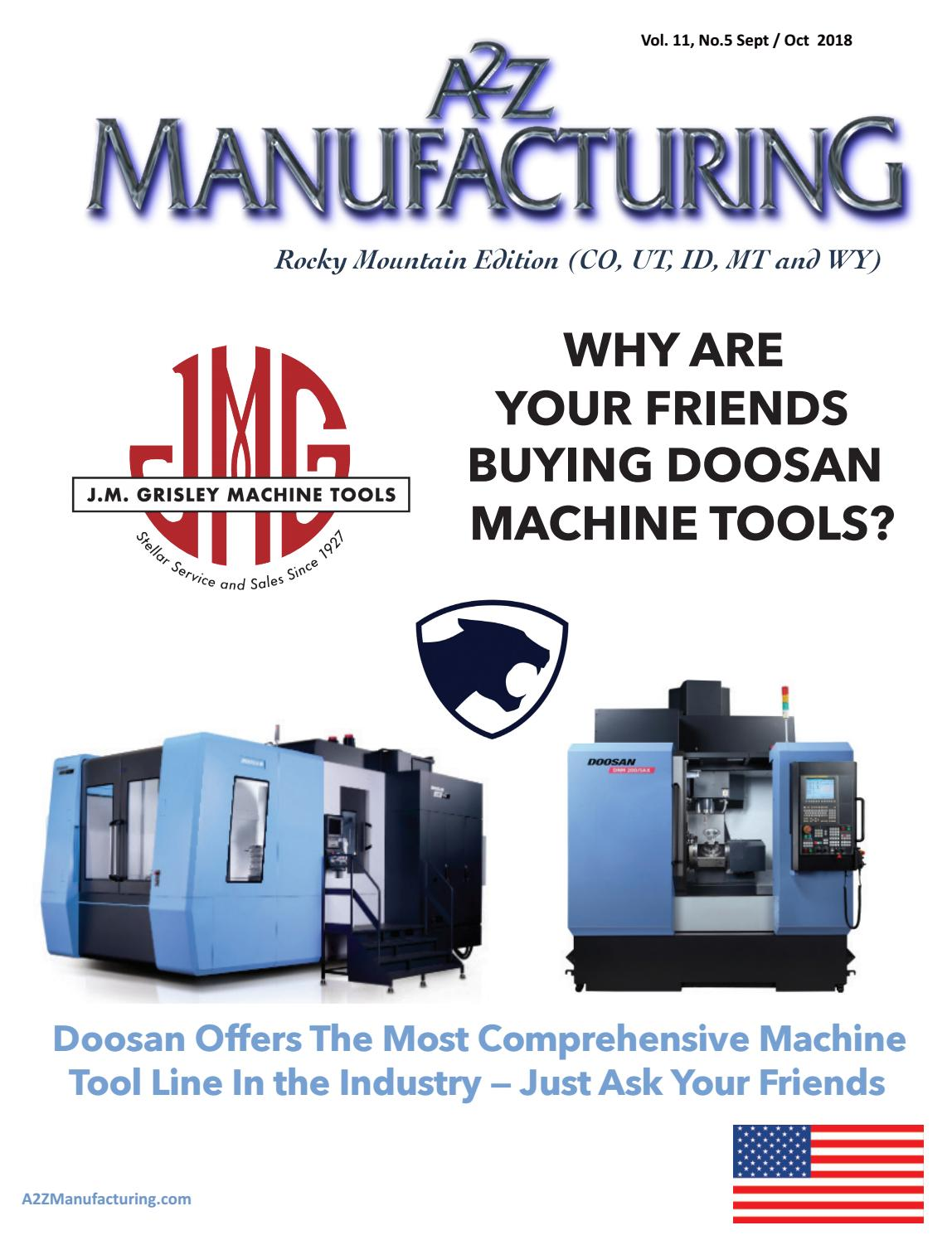Rocky Mountain A2Z Manufacturing Magazine by A2Z