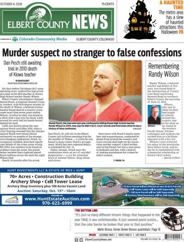 Elbert County News 1004 by Colorado Community Media - issuu