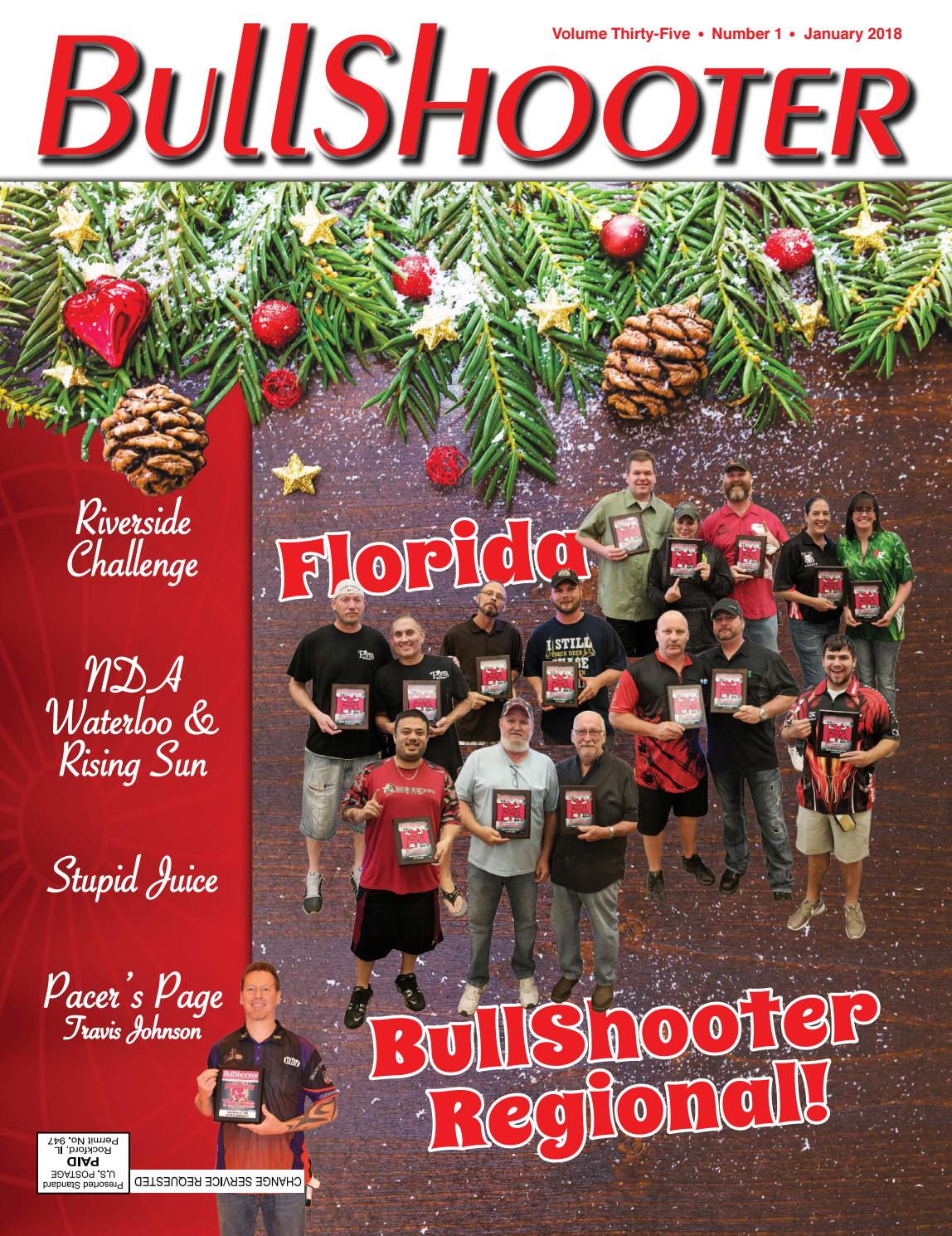 Bullshooter Volume Thirty-Five Number 1 January 2018 by