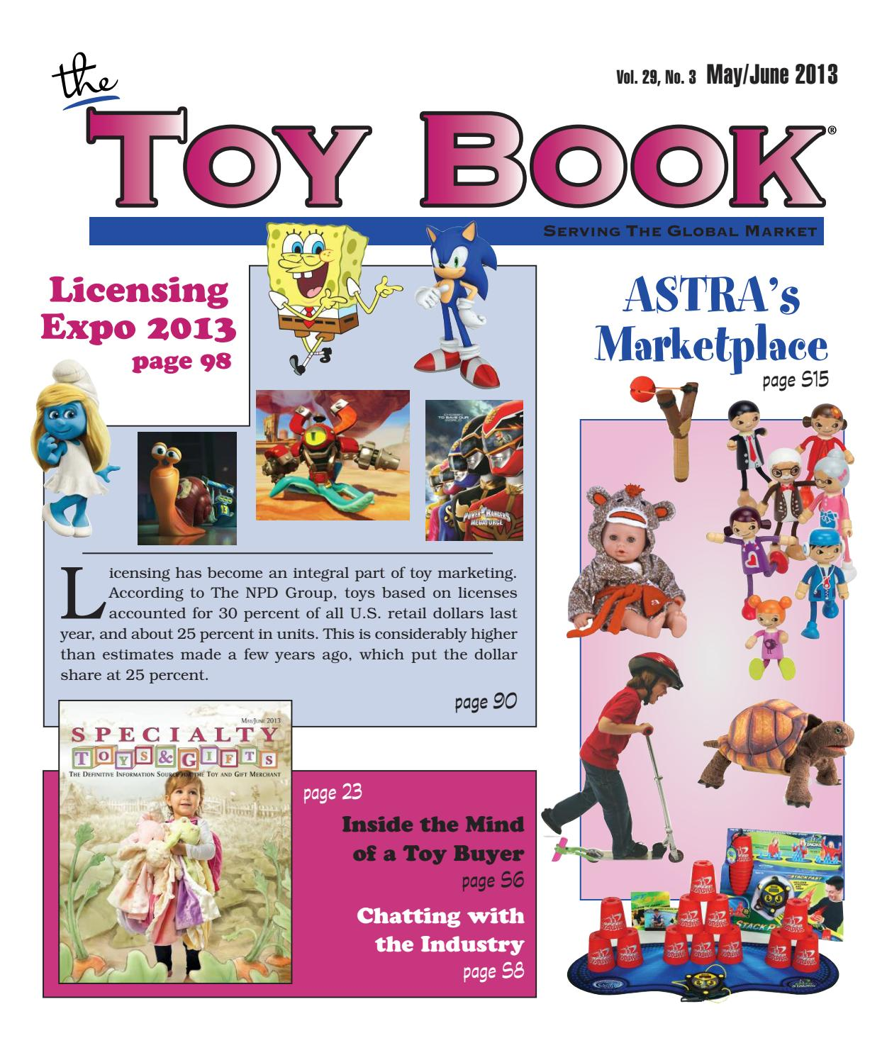 3d2a2ada75c8 May June 2013 by The Toy Book - issuu