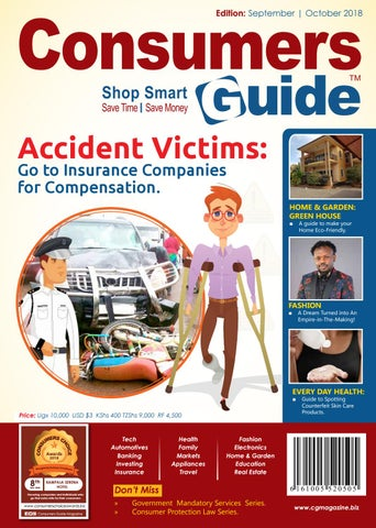 Consumers Guide Magazine September - October 2018 Issue by