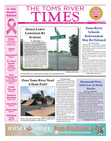 51fc3b921ae 2018-10-06 - The Toms River Times by Micromedia Publications Jersey ...