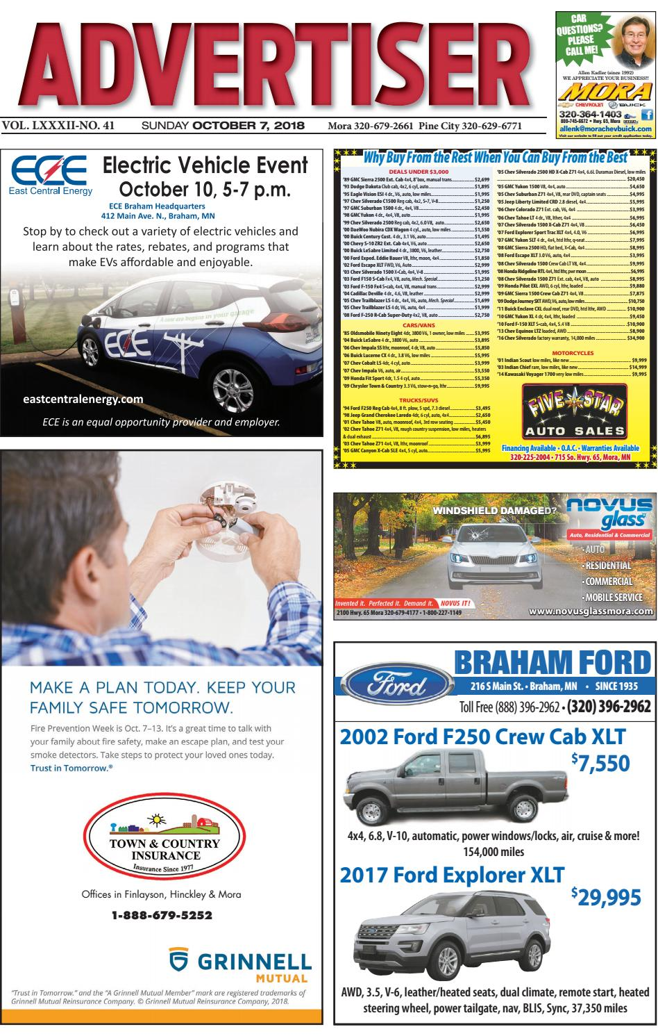 Mora Advertiser 10718 by Kanabec County Times/Pine City