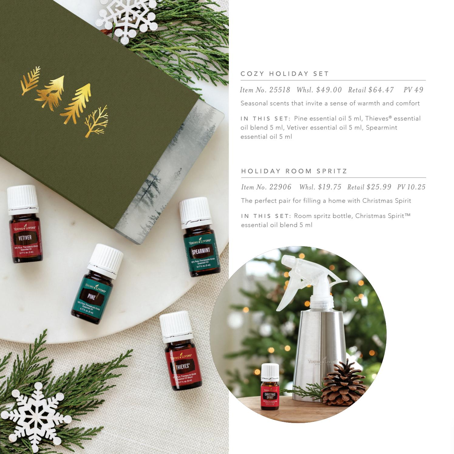 Young Living Christmas Spirit.2018 Young Living Holiday Catalog By Young Living Essential