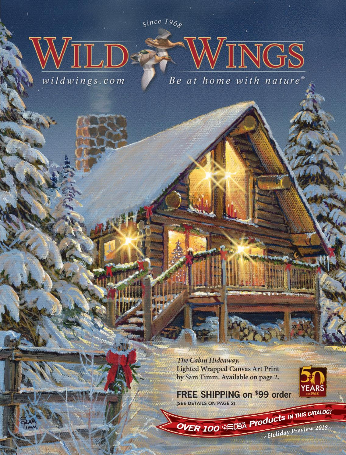 Wild Wings Holiday Preview 2018 By Wild Wings Issuu